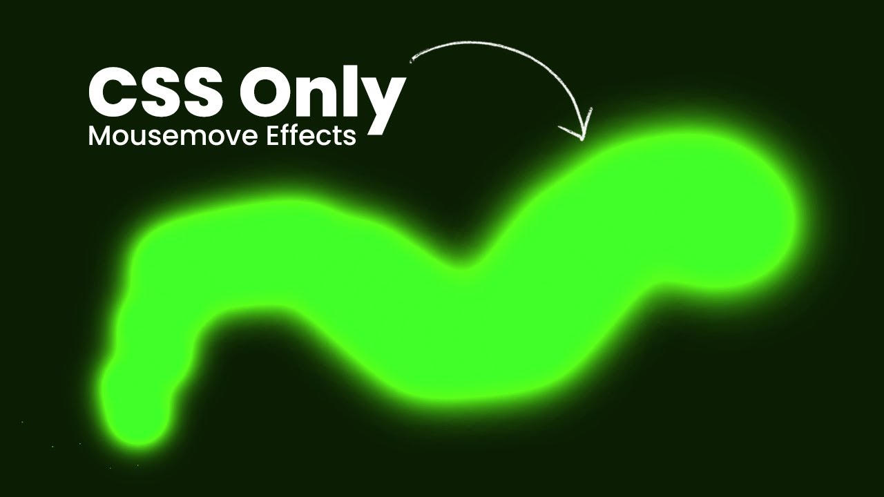 Next Level Mousemove Animation | Pure CSS Effects