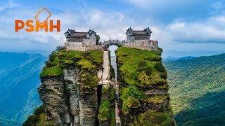 Nhà trên đỉnh núi -  Nơi ở của cao nhân !!!