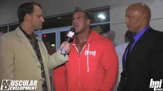 Jay Cutler   on his Retirement after Olympia 2013