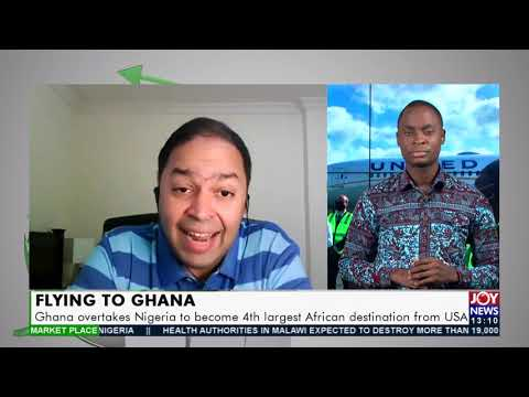 Ghana overtakes Nigeria to become 4th largest African destination from USA- (19-5-21)