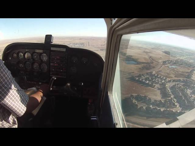 Meadow Lake (KFLY) Touch & Go Landing