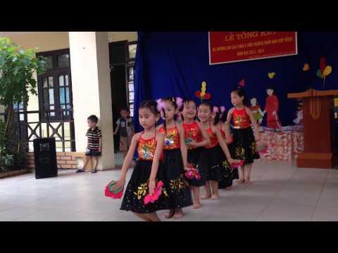 """Múa """" ĐI CẤY"""" - Trường Mầm Non Xã Hợp Đồng - Chương Mỹ - HN"""