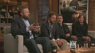 Robert Kirkman and Scott Gimple Discuss The Season 6 Cliffhanger of The Walking Dead