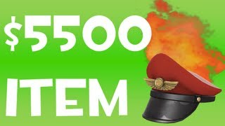 The Most Expensive TF2 Item: $5500 Burning Team Captain! | #37 |