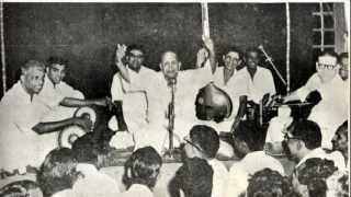 Palghat Mani Iyer - Tribute to Chembai (at Olappamanna Namboodiri Illam, Palakkad - February 1977)