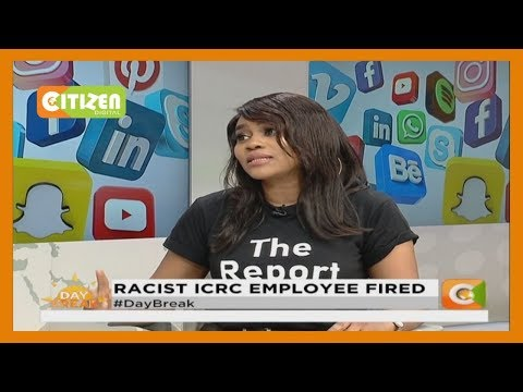 | WEB WARS | Racist ICRC  Employee Fired
