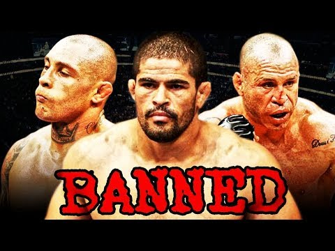 10 Fighters Who Are Banned From The UFC