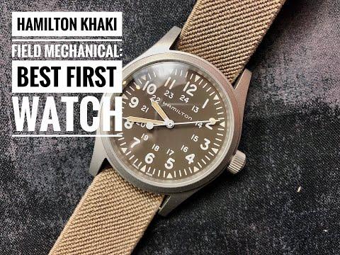 Hamilton Khaki Field Mechanical Watch Review: Best First Watch!