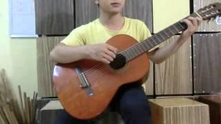 #5 Dieu slow surf - Bai giang guitar Van Anh