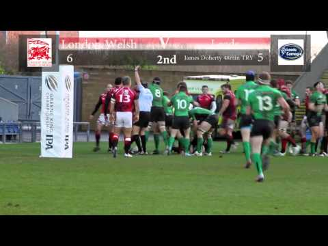GKIPAC London Welsh v Leeds Carnegie Jan 26th 2014