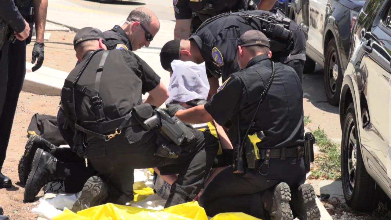 Chula Vista: Police Pursuit Leads To Body Wraps 06222018
