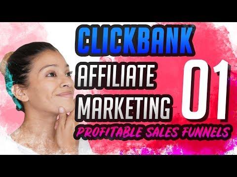 Clickbank Affiliate Marketing Sales Funnels Watch Me Build A Profitable Funnel PART 1