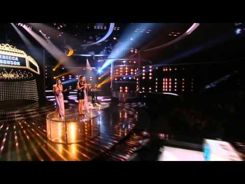 Rebecca Ferguson sings Satisfaction - The X Factor Live show 8 (Full Version)