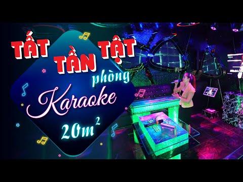 Tìm hiểu chi tiết phòng karaoke 20m² trang trí mới 2021