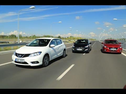 Mazda 3 kontra Hyundai i30 i Nissan Pulsar ktry speni oczekiwania kierowcw