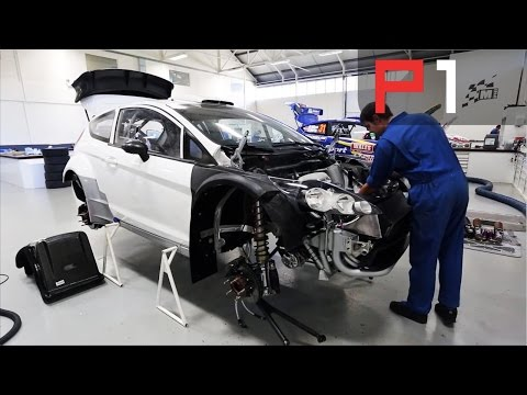 How to make a WRC car - behind the scenes at M-Sport