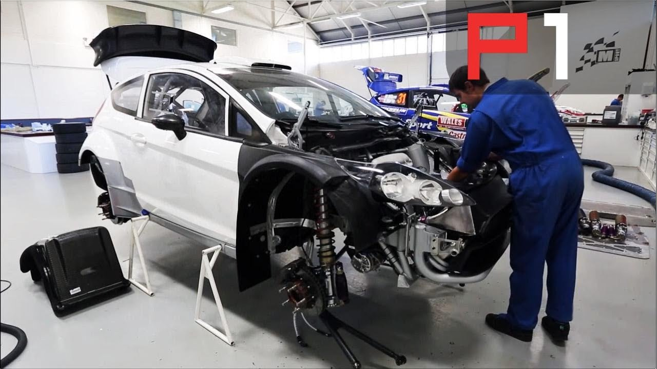 Behind The Scenes At M-Sport