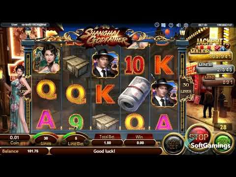 SA Gaming - Shanghai Godfather - GamePlay Video