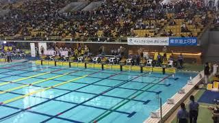 2017春JOC 100m平泳ぎ  決勝  大会新タイ記録
