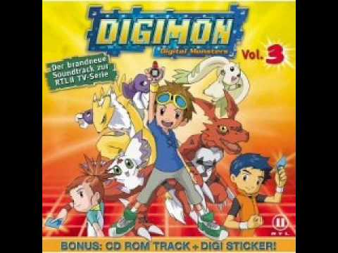 Digimon Tamers Soundtrack -1- Der größte Träumer (The Biggest Dreamer) (German/Deutsch)