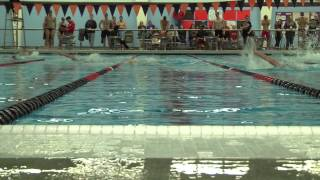Pacific Swimming: Highlights vs. College of Idaho, Jan. 10, 2015