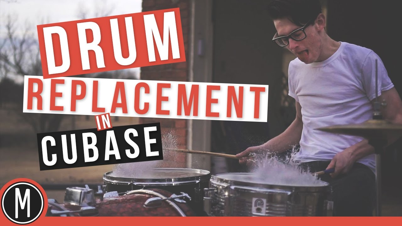 Drum Replacement in CUBASE 9 - mixdown online