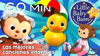 Las mejores canciones infantiles | La canción del baño y más canciones para niños | LittleBabyBum!
