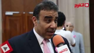 اتفرج  هشام الغزالي: نحاول أن نمنع مسببات الأورام بمصر