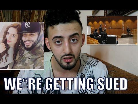 THE CREEPY ADAM SALEH FAN WANTS TO SUE US!!!