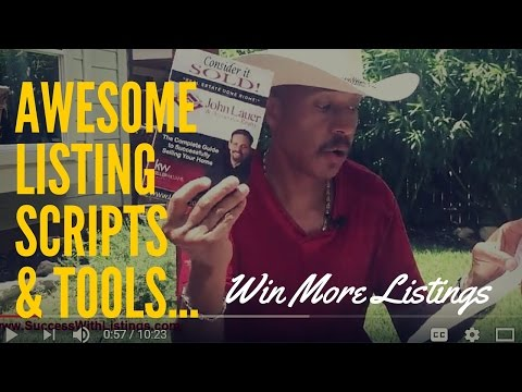 LISTING SCRIPTS! Knolly shares some of his best Success with Listings Scripts! w/Knolly Williams