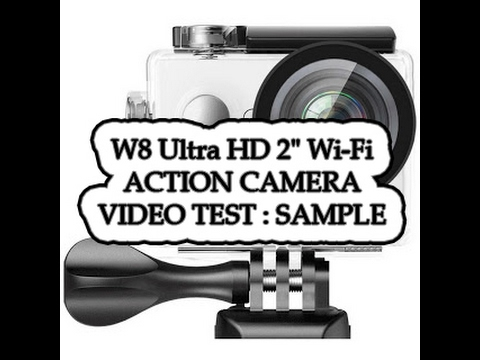w8 ultra hd 2 wi fi action camera video test sample footage day night time lapse youtube. Black Bedroom Furniture Sets. Home Design Ideas