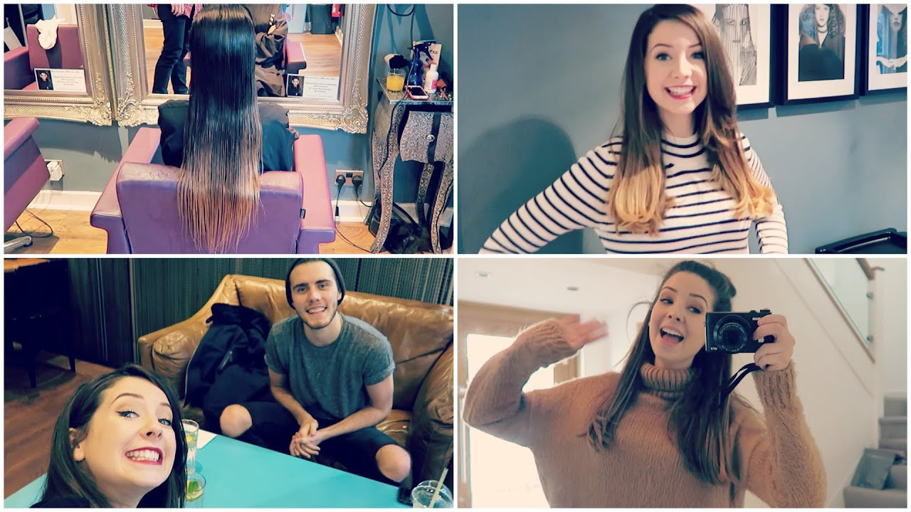Chopping Off My Hair YouTube - Hairstyles for short hair zoella