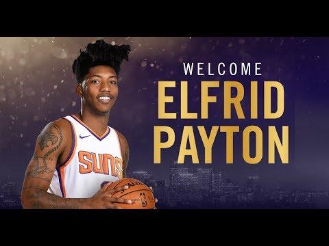 buy online 58a8e 256c6 Elfrid Payton TRADED To Phoenix Suns - NBA Trade Deadline 2018 #Sunsat50