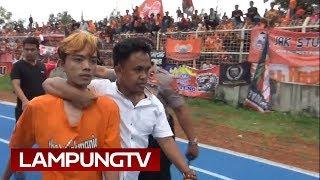 Suporter Main Tonjok di Laga Persija - Lampung All Star