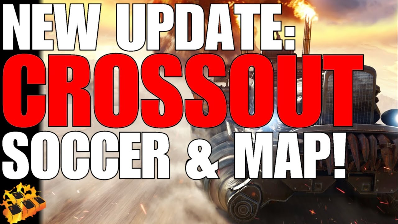 *NEW* CROSSOUT DROPS NEW MAP AND NEW SEASON OF STEEL CHAMPIONSHIP FOOTBALL!! REWARDS LOOKS SOLID!!