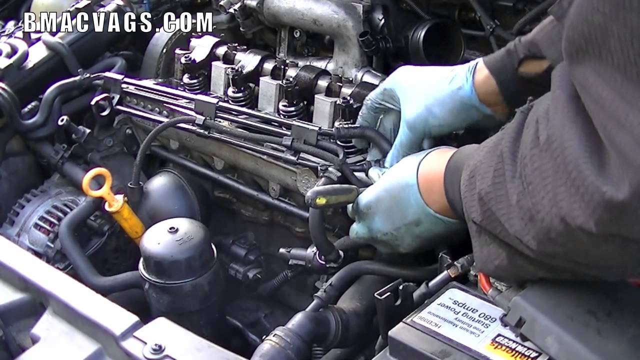 How To Remove A Diesel Injector Electrical Loom Youtube Engine Wiring