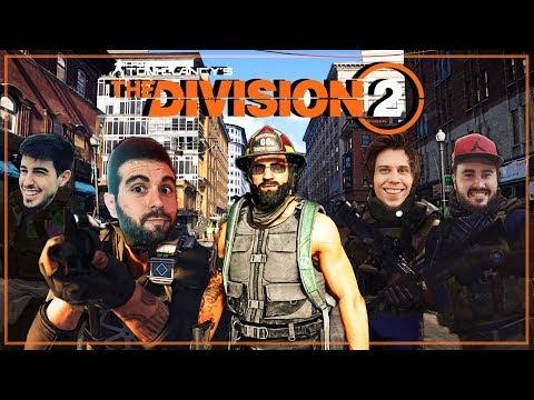 PROBANDO THE DIVISION 2  (RUBIUS, ALEXBY, LOLITO Y VEGETTA)