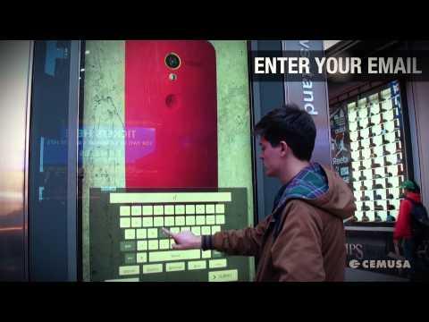 Motorola Interactive Campaign - Cemusa Digital Network