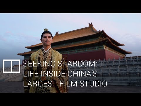 Seeking stardom: life inside China's largest film studio