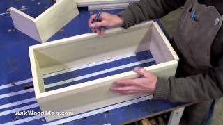 How To Make Plywood Boxes • 46 Of 64 • Woodworking Project For Kitchen Cabinets, Desks, Etc...