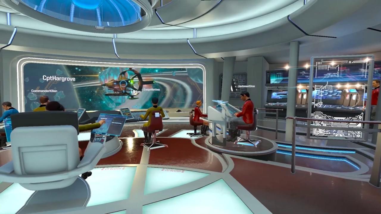 Star Trek: Bridge Crew VR - USS Aegis Gameplay - YouTube