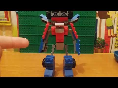 Туториал как зделать трансформера из LEGO + бонус