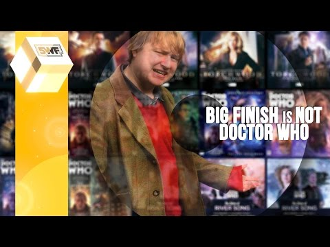 Big Finish is NOT Doctor Who