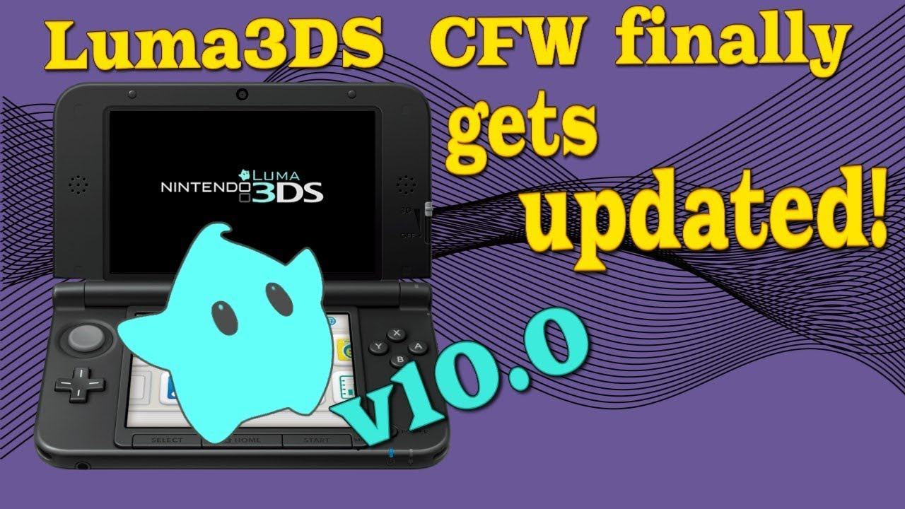 2DS / 3DS - Luma3DS gets a big update v10 0 after almost a year