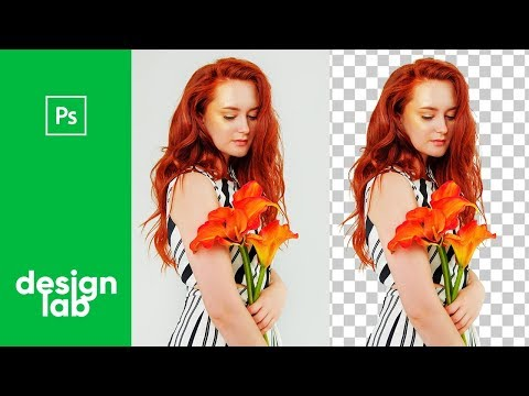 Remove background  / Hair / Photoshop Tutorial thumbnail