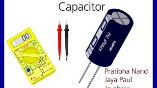 How to check Capacitor  Multi meter  condenser  discharge  Aravali   Gupta  electricity   Ghamas