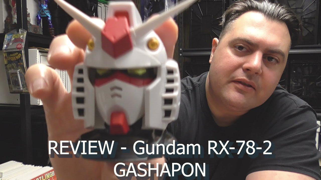 REVIEW - Gundam RX-78-2 - GASHAPON