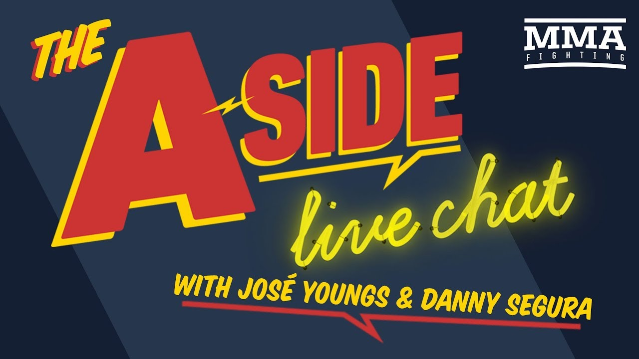 The A-Side Live Chat: UFC 241 preview, Nate Diaz's Return, UFC Uruguay Fallout, more