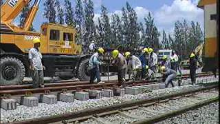 สารคดีก่อสร้างทางรถไฟ รังสิต ถึงชุมทางบ้านภาชี