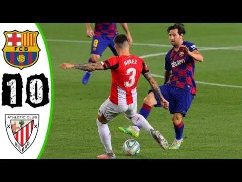 BARCELONA vs Atletico Bilbao 1-0 Alls Goals &Highlights ...